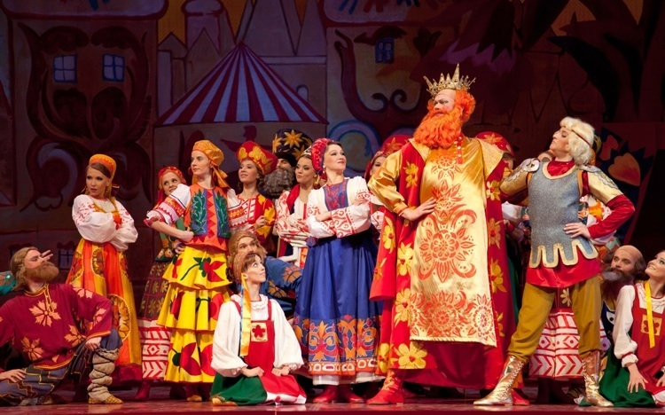 A stage production of the opera.