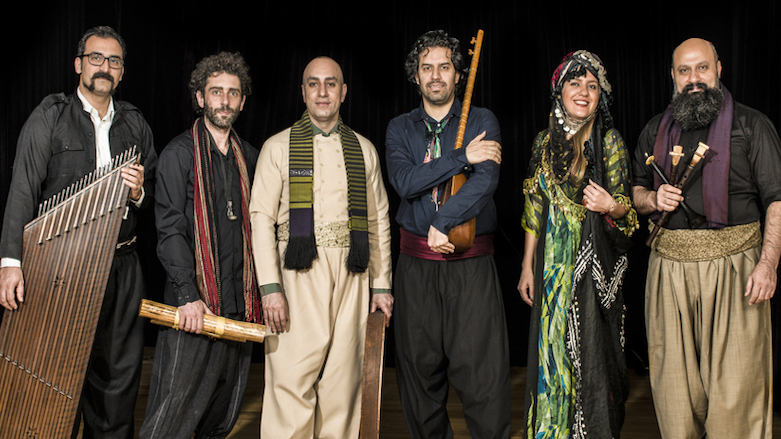 "Kurdish band Nishtiman performed their second album ""Kobane"" Toronto, Canada, Sep. 29, 2017. The band unites musicians from the different Kurdish communities of Iraqi Kurdistan Iran, and Turkey."